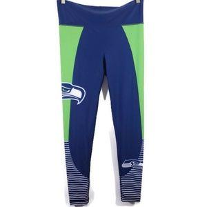 Women's NFL Seattle Seahawk team logo leggings
